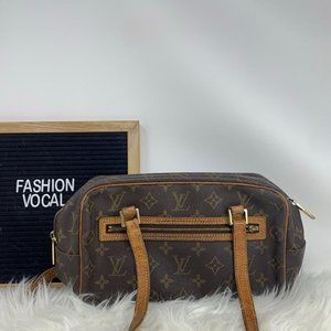 Louis Vuitton Cite Monogram Shoulder Bag